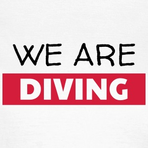 dykning / dykare / diving / simning T-shirts - T-shirt dam