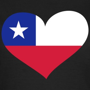 Chile Herz; Heart Chile T-shirts - Dame-T-shirt