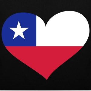 Chile Herz; Heart Chile Sacs et sacs à dos - Tote Bag