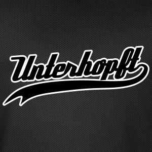 Unterhopft - Funny Bavarian Beer / Humor Slogan Sports wear - Men's Basketball Jersey