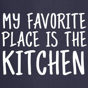 My Favorite Place Is The Kitchen Forklær - Kokkeforkle