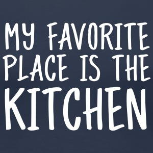 My Favorite Place Is The Kitchen Koszulki - Koszulka damska Premium