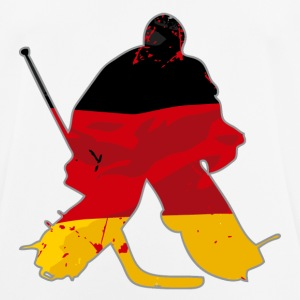 Hockey Keeper - German Flag T-Shirts - Männer T-Shirt atmungsaktiv