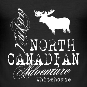 Moose - North Canadian Adventure T-Shirts - Männer Slim Fit T-Shirt