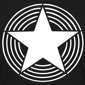 Star With Circles - Männer T-Shirt