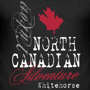 North Canadian Adventure T-Shirts - Männer Slim Fit T-Shirt
