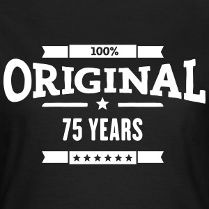Original 75 Years T-Shirts - Frauen T-Shirt