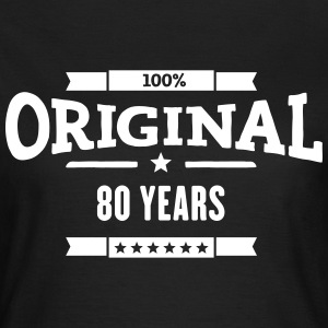 Original 80 Years T-Shirts - Frauen T-Shirt