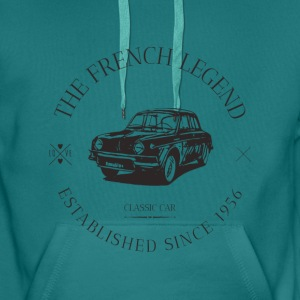 RENAULT DAUPHINE FRENCH C Sweat-shirts - Sweat-shirt à capuche Premium pour hommes