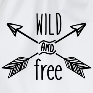 AD Wild and Free Bags & Backpacks - Drawstring Bag