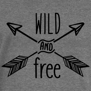 AD Wild and Free Hoodies & Sweatshirts - Women's Boat Neck Long Sleeve Top