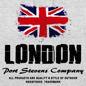 London  - Union Jack - UK Flag Logo Pullover & Hoodies - Unisex Hoodie