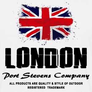London  - Union Jack - UK Flag Logo T-Shirts - Männer T-Shirt