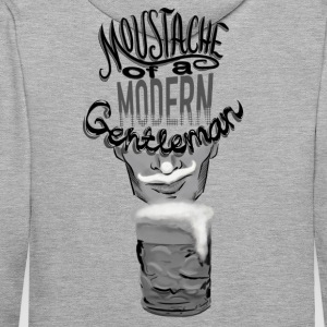 Beer Moustache Hoodies & Sweatshirts - Men's Premium Hoodie