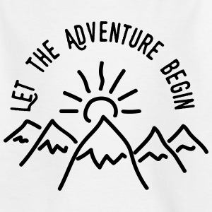 AD Let the Adventure Begin Shirts - Teenager T-shirt