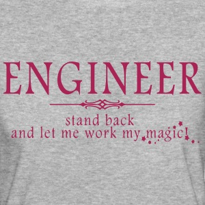 Engineer - Stand Back! T-Shirts - Women's Organic T-shirt