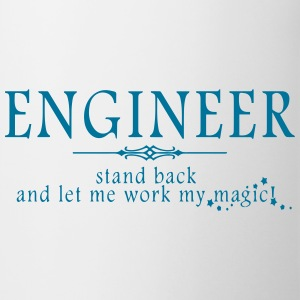 Engineer - Stand Back! Mugs & Drinkware - Mug