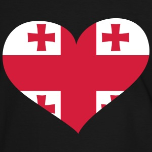Georgien Herz; Heart Georgia T-Shirts - Men's Ringer Shirt