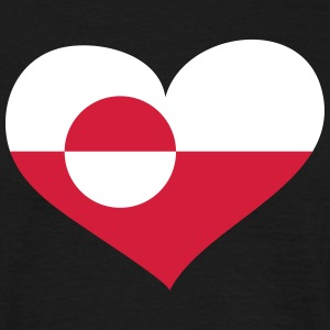 Grönland Herz; Heart Greenland T-Shirts - Men's T-Shirt
