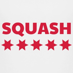 Squash Sport Game Match Champion Victory Skjorter - Premium T-skjorte for barn