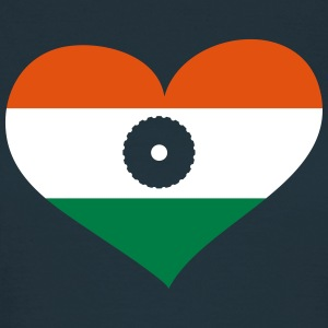 Indien Herz; Heart India T-Shirts - Frauen T-Shirt