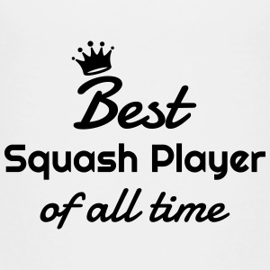 Squash Sport Game Match Champion Victory T-Shirts - Teenager Premium T-Shirt