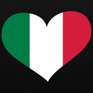 Italien Herz; Heart Italia Bags & Backpacks - Tote Bag