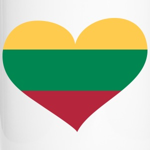 Litauen Herz; Heart Lithuania Mugs & Drinkware - Travel Mug