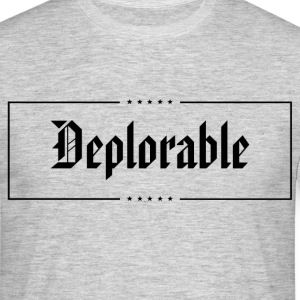 Deplorable T-Shirts - Men's T-Shirt