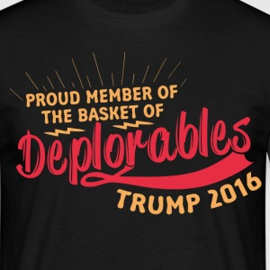 Proud Member Of The Basket Of Deplorables T-Shirts - Men's T-Shirt