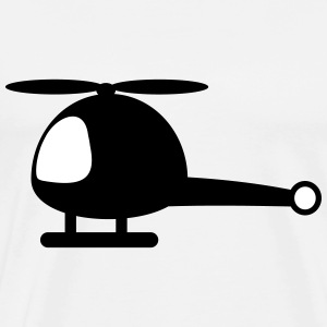Helicopter cartoon T-Shirts - Men's Premium T-Shirt