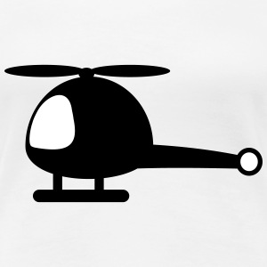 Helicopter cartoon T-Shirts - Women's Premium T-Shirt