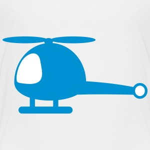 Helicopter cartoon T-Shirts - Kinder Premium T-Shirt
