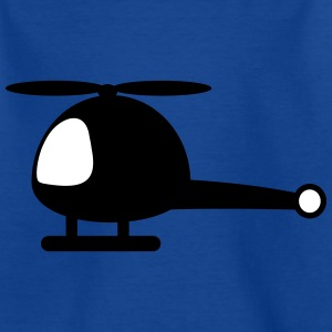 Helicopter cartoon Shirts - Kids' T-Shirt