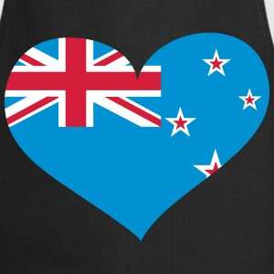 Neuseeland Herz; Heart New Zealand  Aprons - Cooking Apron