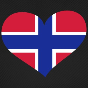 Norwegen Herz; Heart Norway Kasketter & huer - Baseballkasket
