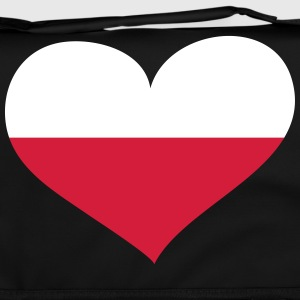 Polen Herz; Heart Poland Bags & Backpacks - Shoulder Bag