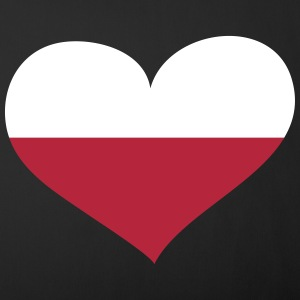 Polen Herz; Heart Poland Other - Sofa pillow cover 44 x 44 cm