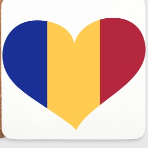 Rumänien Herz; Heart Romania Mugs & Drinkware - Coasters (set of 4)