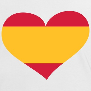 Spanien Herz; Heart Spain T-Shirts - Frauen Kontrast-T-Shirt