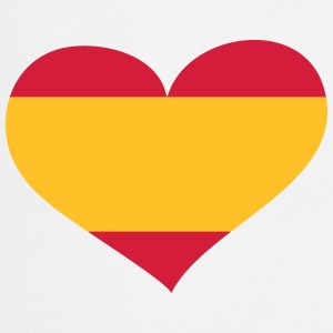 Spanien Herz; Heart Spain  Aprons - Cooking Apron
