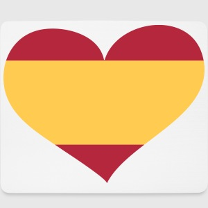 Spanien Herz; Heart Spain Sonstige - Mousepad (Querformat)