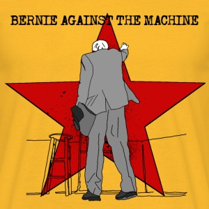 BERNIE AGAINST THE SYSTEM (for white shirts) T-Shirts - Männer T-Shirt