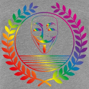 anonymous rainbow T-Shirts - Frauen Premium T-Shirt
