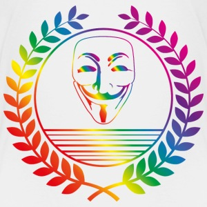 anonymous rainbow T-Shirts - Kinder Premium T-Shirt