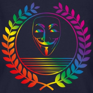 anonymous rainbow T-Shirts - Männer Bio-T-Shirt