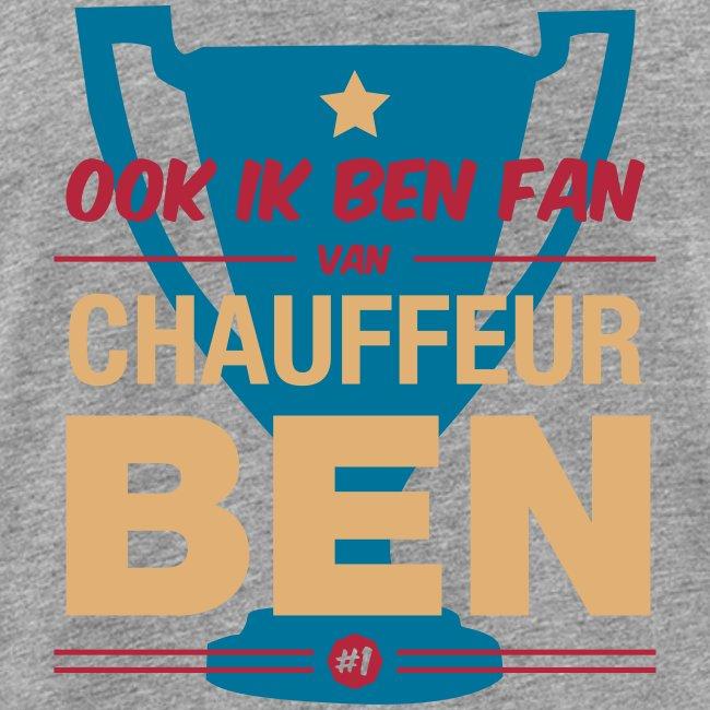 Tanktop Fan van chauffeur Ben