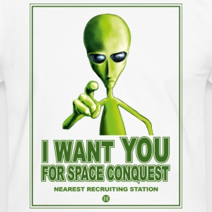 I Want You Tee shirts - T-shirt contraste Homme