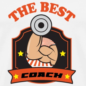The best coach T-shirts - Premium-T-shirt herr