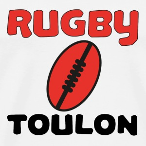 Rugby toulon T-shirts - Herre premium T-shirt